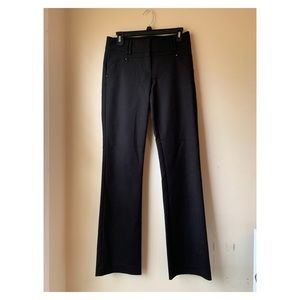 Cache| black pants career stretchy size 4 like new